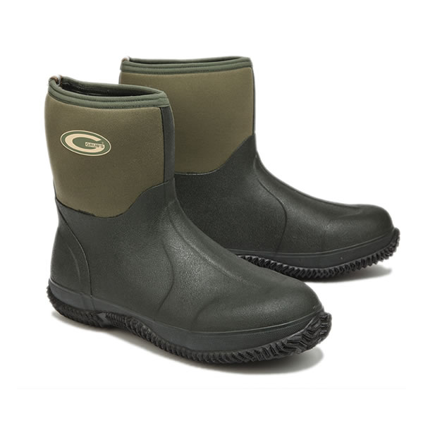 Grubs Field Mid Green Wellingtons
