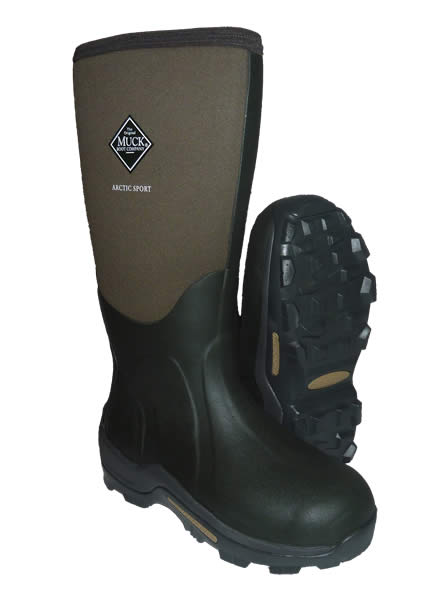 Muck Boot Arctic Sport Moss Green Wellingtons