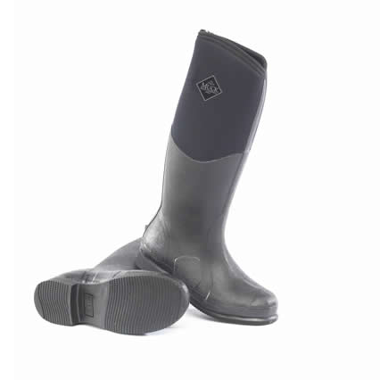 Muck Boot Colt Ryder Black Wellingtons
