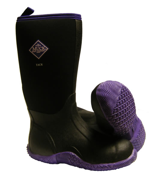 Muck Boot Tack Classic Purple Wellingtons