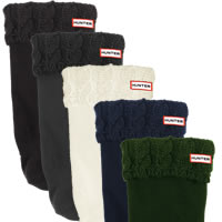Cable Cuff Welly Socks (Medium)