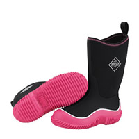 Muck Boot Hale Kids Black And Pink
