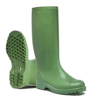 Nora Supermax Green Wellingtons