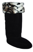 Tiger Cuff Welly Socks (Large)